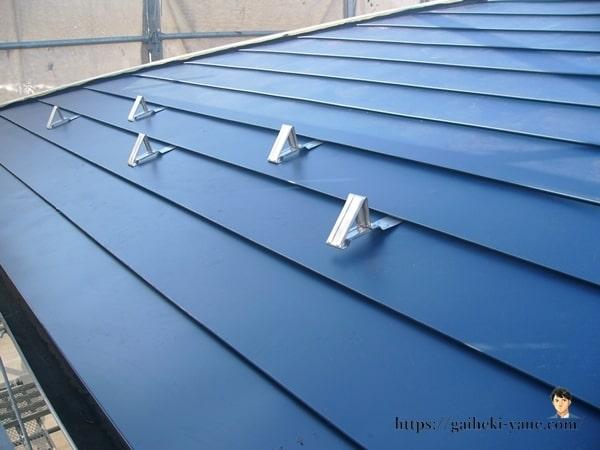 外壁・屋根塗装(カバー工法)体験談④2階ガルバリウム鋼板貼り