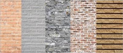外壁に使用される素材