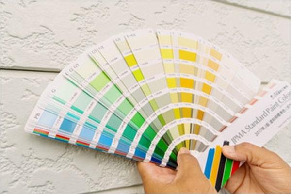 外壁・屋根塗装の色を決める