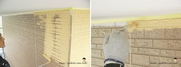 2階外壁中塗りを体験した感想