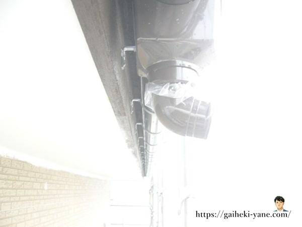 雨樋の新設