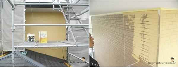 外壁塗装の作業工程と期間