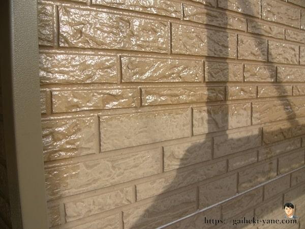 1階外壁の下塗り