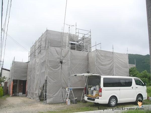 6月15日:ジョイント部の接合作業