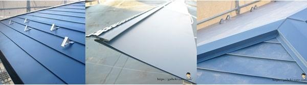 屋根カバー工法の素材種類