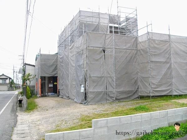 外壁・屋根塗装およびカバー工法がスタート
