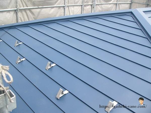 2階の屋根カバー工法