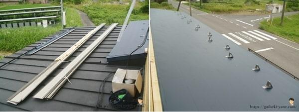 1階屋根ガルバリウム鋼板貼り(前半)を体験した感想