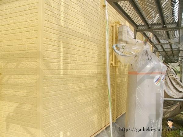外壁&配管類の仕上げ塗装完了