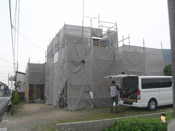 6月26日:全外壁塗装の最終工程