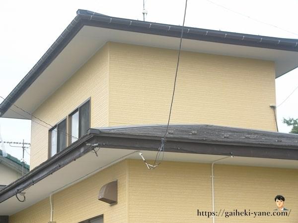 1階屋根カバー工法がまだ