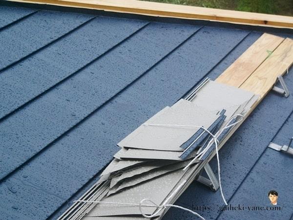 屋根カバー工法中の雨って大丈夫?