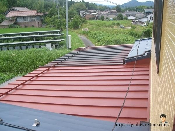 屋根塗装スタート!
