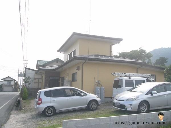 7月16日:屋根塗装スタート(下塗り)